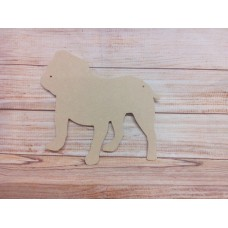 4mm MDF Hanging Bull dog